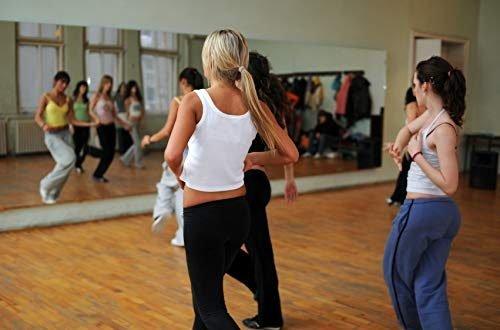 Tanzspiegel Spiegelwand Für Fitness Und Ballet Sport Premium Glas 100 x 200 cm