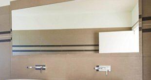 Spiegelwerk Kristallspiegel 4mm Badspiegel nach Wunschmass - B: 160 cm x H: 80 cm